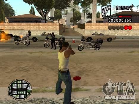 C-HUD Energy für GTA San Andreas