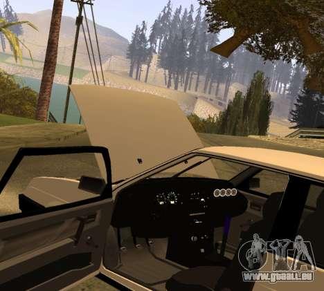 ВАЗ 2108 GVR Version 2.0 pour GTA San Andreas vue de droite