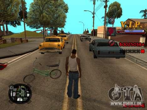 C-HUD VIP pour GTA San Andreas quatrième écran