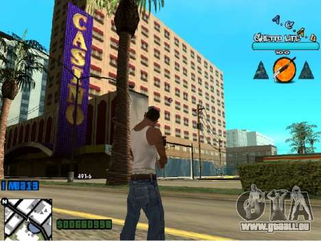Hud ACAB für GTA San Andreas dritten Screenshot