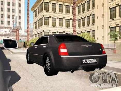 Chrysler 300C 2009 pour GTA San Andreas moteur