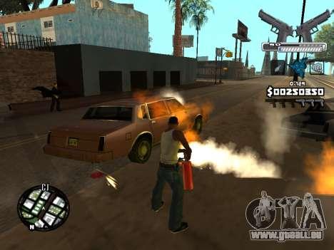C-HUD Deagle für GTA San Andreas siebten Screenshot