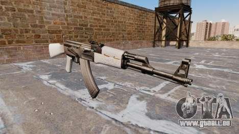L'AK-47 Chrome pour GTA 4