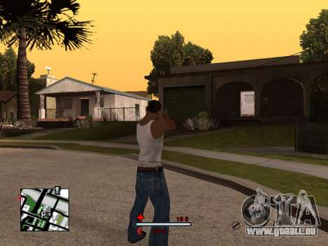 C-HUD by SaMoGoN für GTA San Andreas