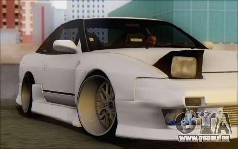 Nissan 240sx Blister für GTA San Andreas Seitenansicht