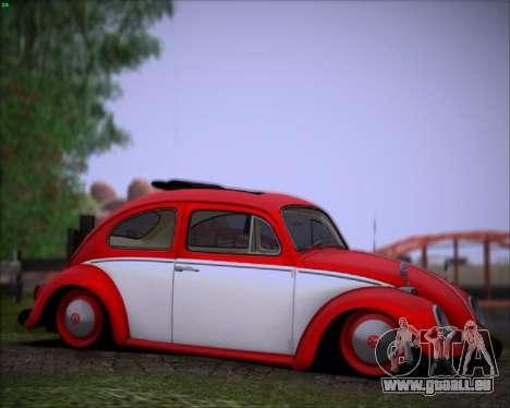 Volkswagen Beetle Stance pour GTA San Andreas laissé vue