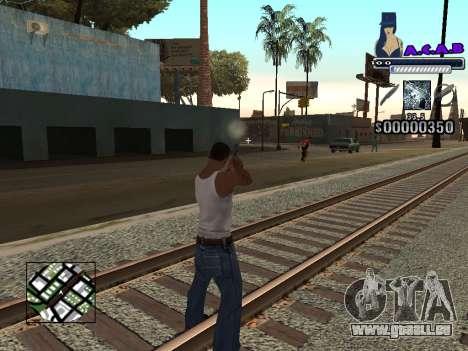 C-HUD new A.C.A.B pour GTA San Andreas troisième écran