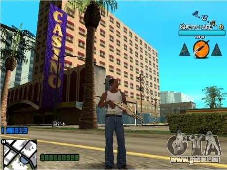 Hud ACAB für GTA San Andreas zweiten Screenshot