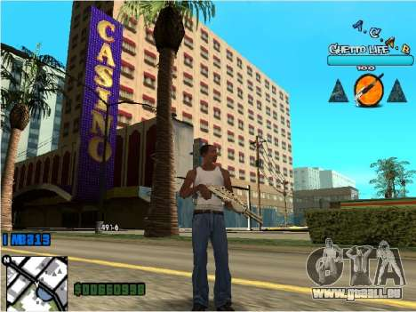 Hud ACAB pour GTA San Andreas deuxième écran