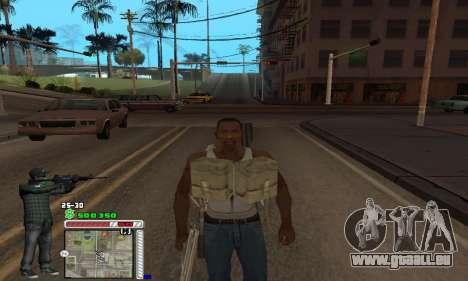 C-HUD Grove by Krutoyses pour GTA San Andreas quatrième écran