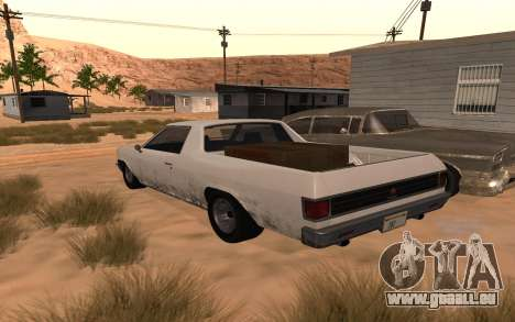 Picador GTA 5 pour GTA San Andreas laissé vue