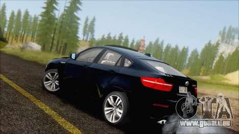 BMW X6M E71 2013 300M Wheels für GTA San Andreas linke Ansicht