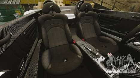 Pagani Zonda C12 S Roadster 2001 PJ6 pour GTA 4 est un côté