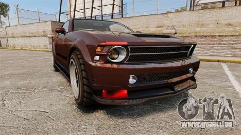 GTA V Vapid Dominator wheels v1 pour GTA 4