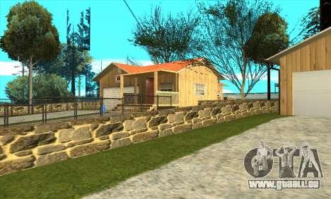 Nouvelle maison de Sijia en Palomino Pleurer pour GTA San Andreas deuxième écran