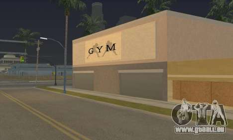 New gym für GTA San Andreas dritten Screenshot