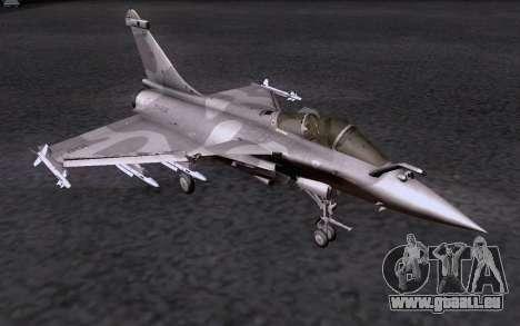 Dassault Rafale M pour GTA San Andreas vue de côté