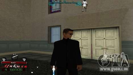 Yakudza HUD für GTA San Andreas