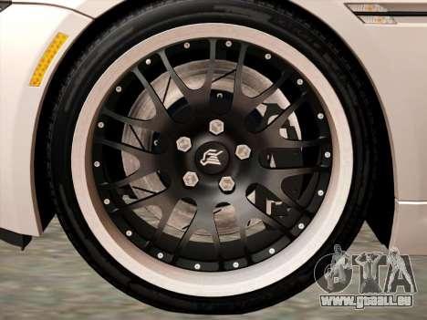 BMW M6 Hamann pour GTA San Andreas vue arrière