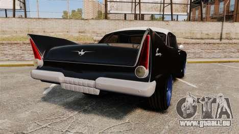 Plymouth Savoy 1958 für GTA 4 hinten links Ansicht