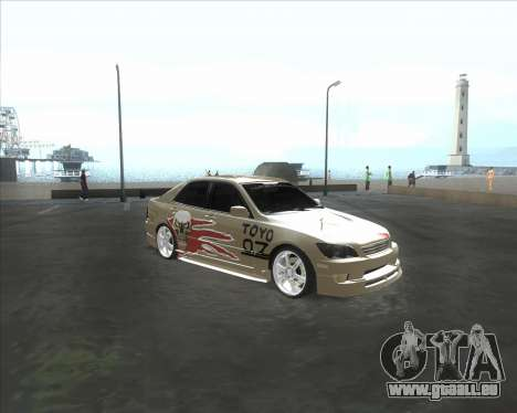 Lexus IS300 Tuneable für GTA San Andreas