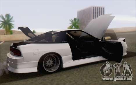 Nissan 240sx Blister für GTA San Andreas Unteransicht