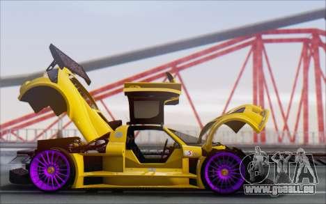Gumpert Apollo S Autovista für GTA San Andreas Seitenansicht