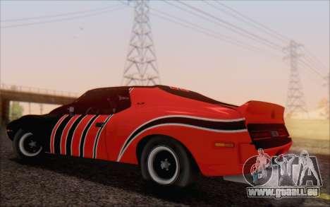 AMC Javelin pour GTA San Andreas laissé vue