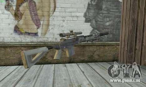 Sniper Rifle из MW2 für GTA San Andreas zweiten Screenshot