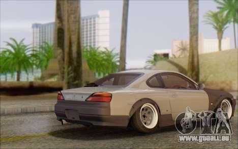 Nissan Silvia S15 Fail Camber pour GTA San Andreas sur la vue arrière gauche