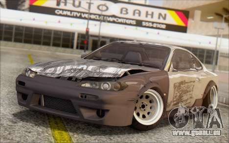 Nissan Silvia S15 Fail Camber pour GTA San Andreas vue de côté