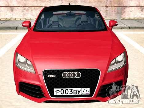 Audi TT RS 2010 für GTA San Andreas linke Ansicht