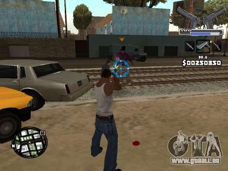 C-HUD Deagle für GTA San Andreas fünften Screenshot