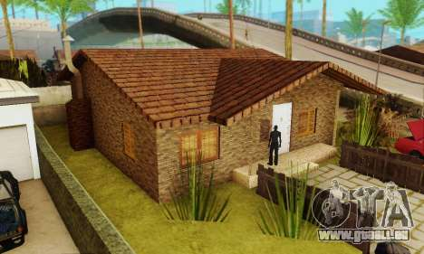 Neue Texturen des Hauses Denis für GTA San Andreas zweiten Screenshot