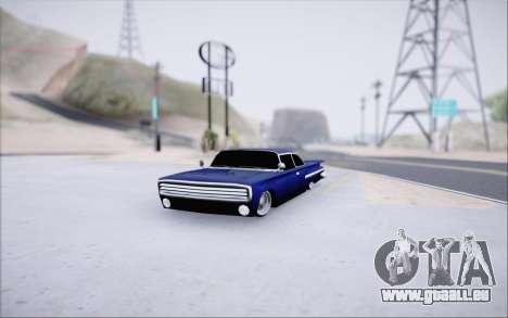 Voodoo Low Car v.1 pour GTA San Andreas