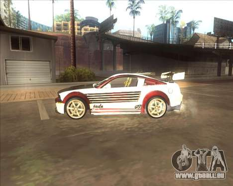 Ford Mustang GT из NFS MW pour GTA San Andreas laissé vue