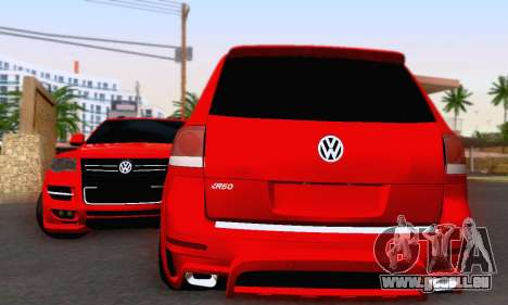 Volkswagen Touareg Mansory pour GTA San Andreas laissé vue