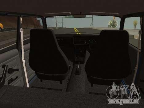 VAZ-2107 Riva pour GTA San Andreas vue de droite