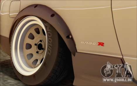 Nissan Silvia S15 Fail Camber pour GTA San Andreas vue arrière