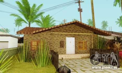 Neue Texturen des Hauses Denis für GTA San Andreas fünften Screenshot