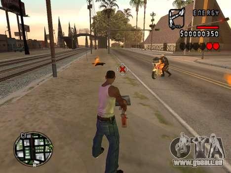 C-HUD Energy pour GTA San Andreas deuxième écran