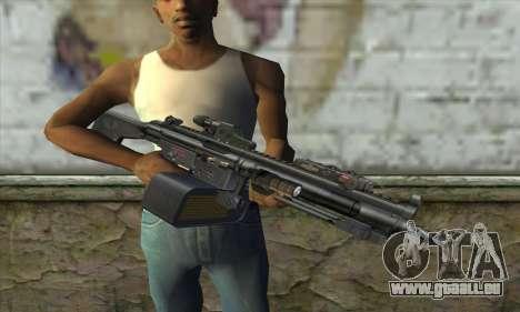 HK 23E pour GTA San Andreas troisième écran