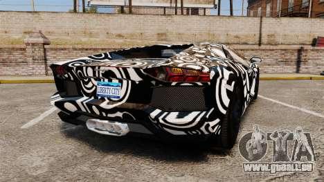 Lamborghini Aventador LP700-4 2012 [EPM] Circle pour GTA 4 Vue arrière de la gauche