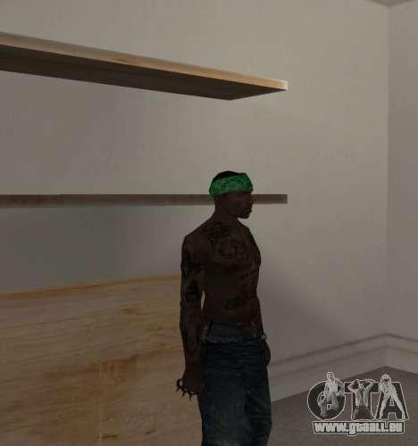 Nouveau bandanas pour CJ pour GTA San Andreas troisième écran