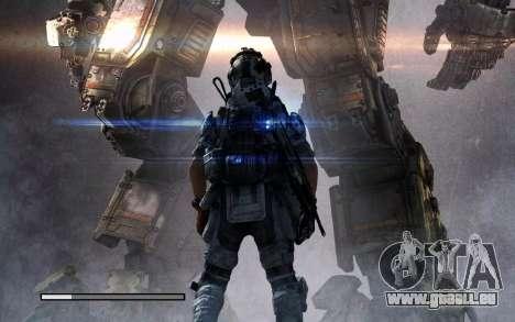 Les écrans de démarrage et de menus Titanfall pour GTA San Andreas huitième écran