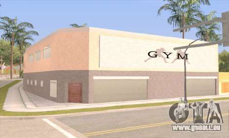 New gym für GTA San Andreas