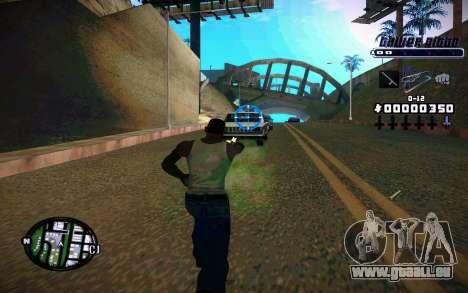 C-HUD Tawer Gitto pour GTA San Andreas deuxième écran
