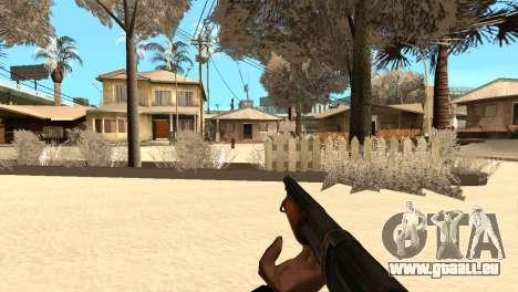 M1897 from Battle Territory Battery pour GTA San Andreas cinquième écran