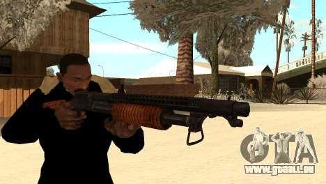 M1897 from Battle Territory Battery pour GTA San Andreas troisième écran