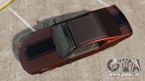 GTA V Vapid Dominator wheels v1 pour GTA 4 est un droit
